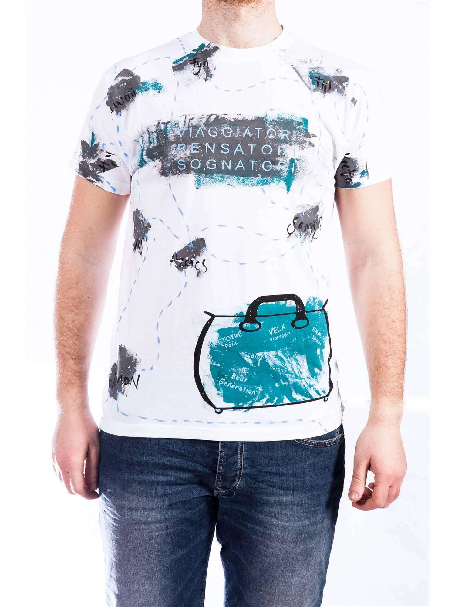 825c236ff2 T-shirt Uomo Uomo Beat Generation
