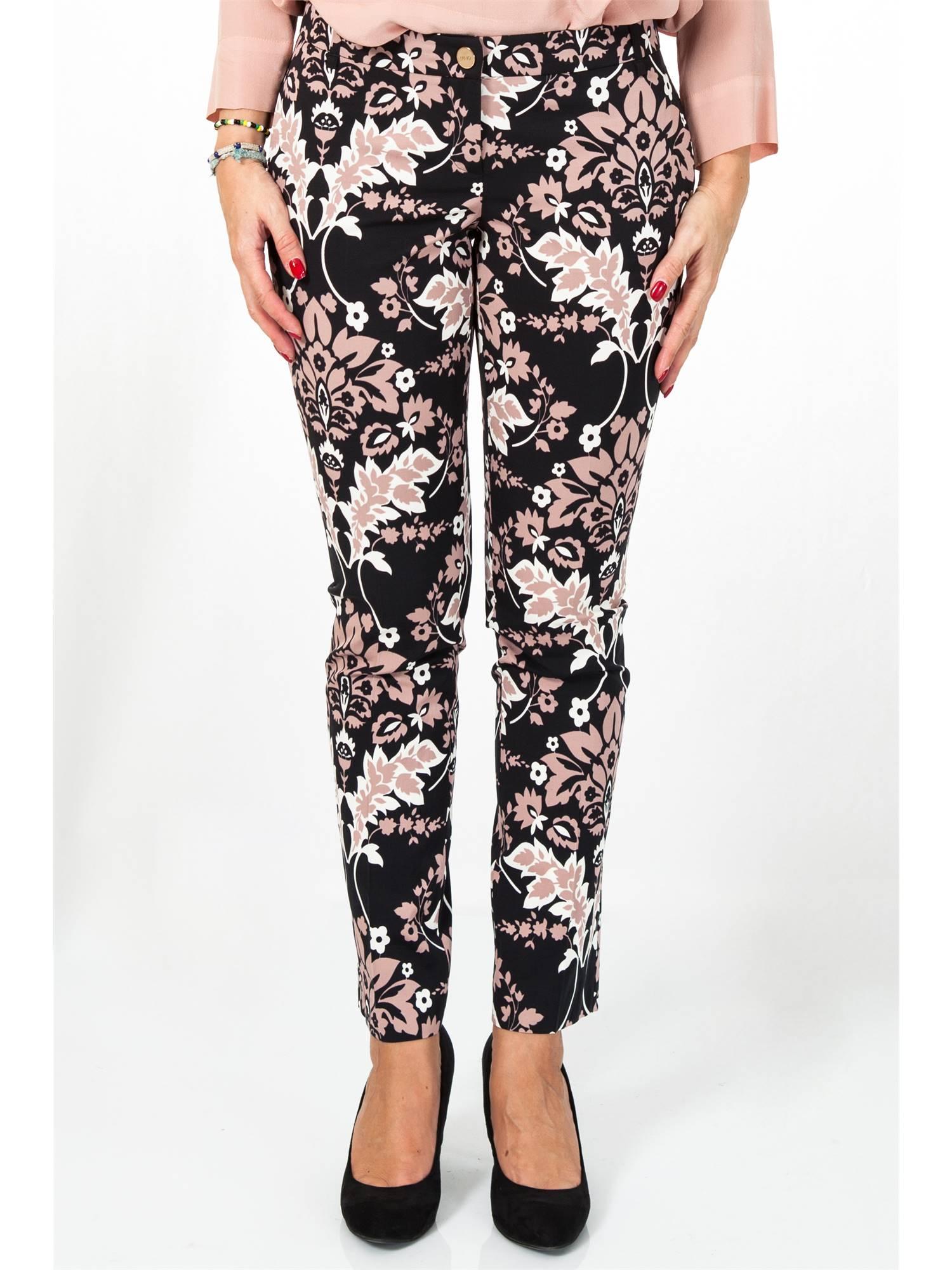 Liu Jo P66028T1723-Y9733 Fant.floreale Abbigliamento Donna Pantalone Donna.  lightbox d9474836dd8