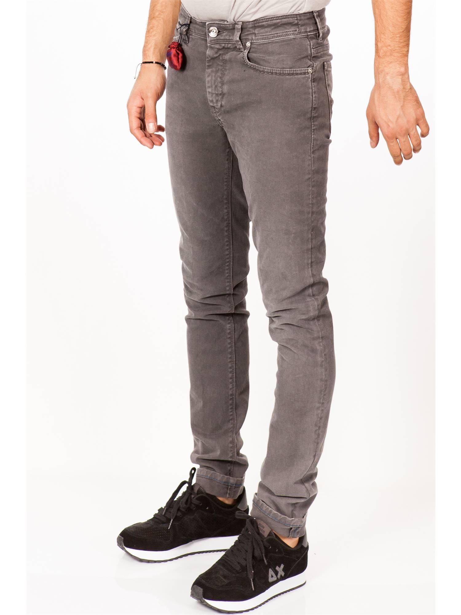 Re-hash Uomo P015 088 5403 GRI GRI GRI Grigio Jeans Uomo Autunno Inverno eadf9c